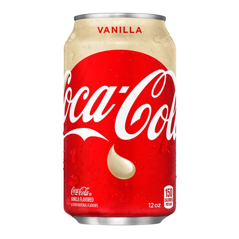 Coca Cola Vanilla Tray