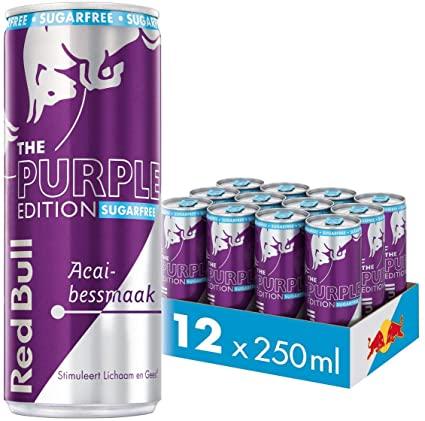 Red Bull Suikervrij Purple 1/2 Tray