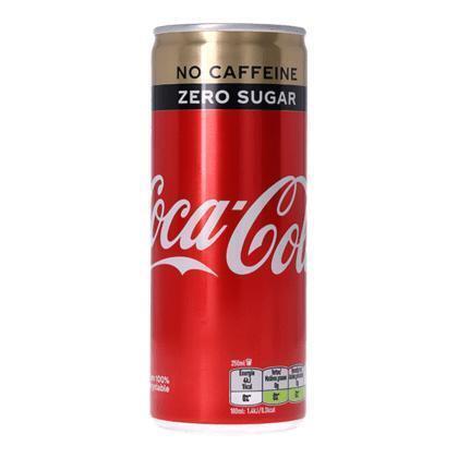 Coca Cola Zero Cafeïnevrij Tray