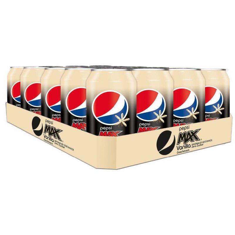 Pepsi Max Vanilla Tray