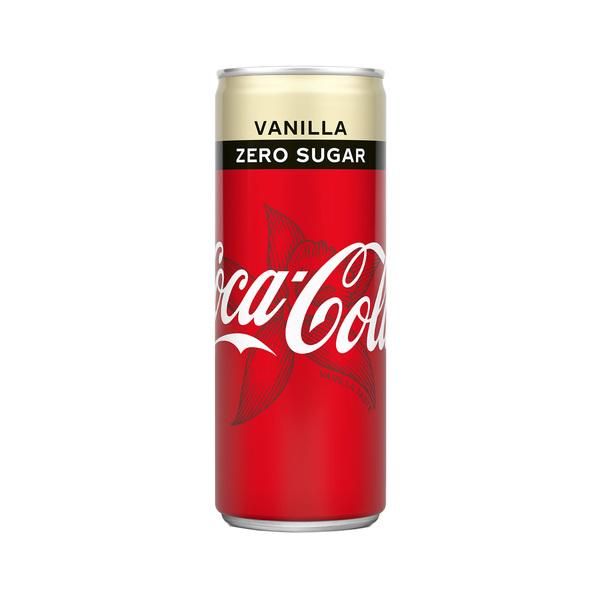 Coca Cola Zero Vanille Tray