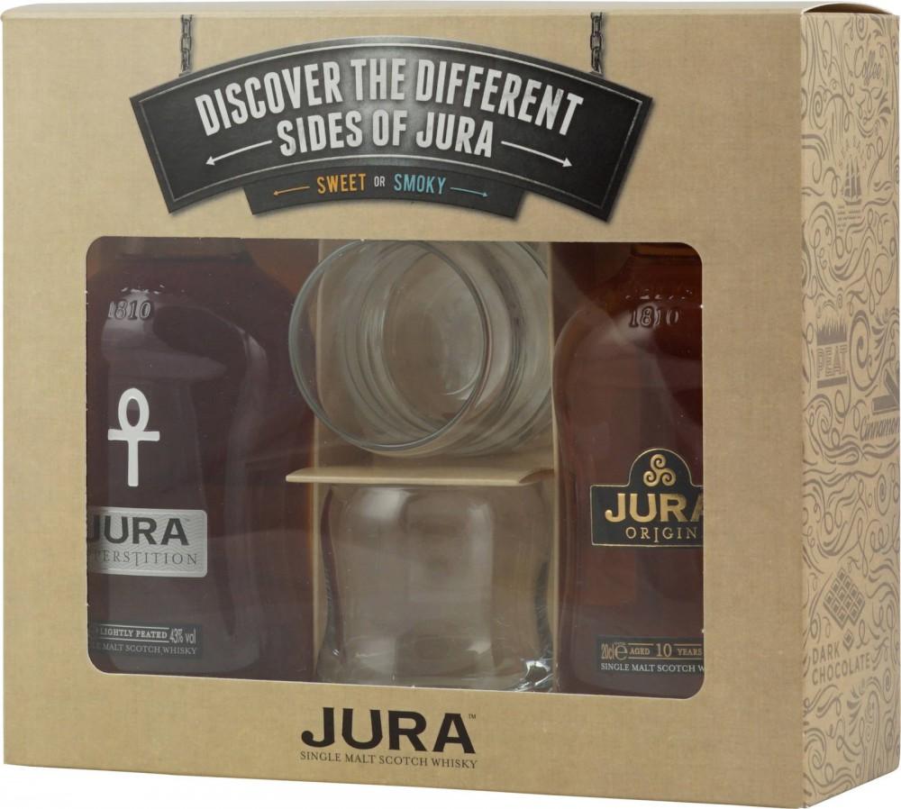 Isle Of Jura Junior Set + 2 Glasses 2x200ml
