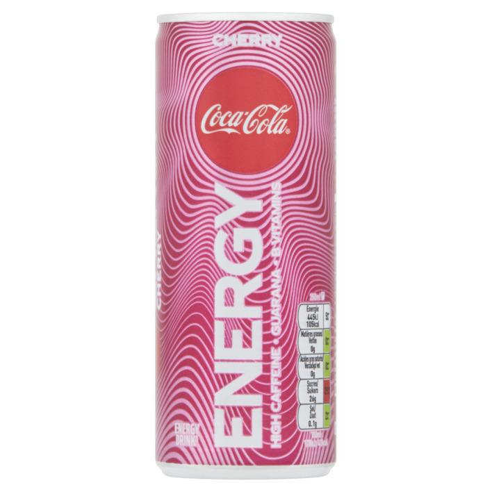 Coca Cola Energy Cherry 1/2 Tray