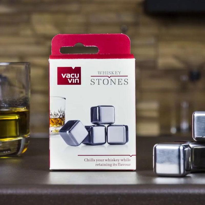 Vacu Vin Whiskey Stones (4 stuks)