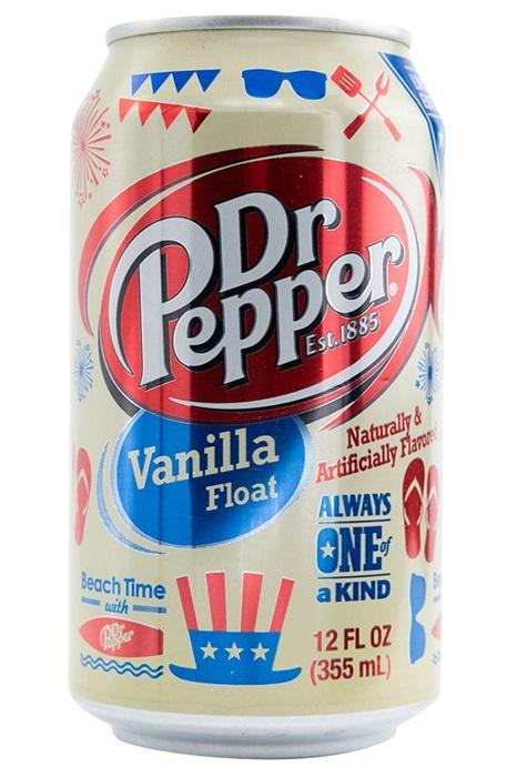 Dr Pepper USA Vanilla Float 1/2 tray