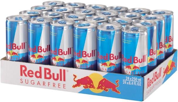 Red Bull Sugarfree tray
