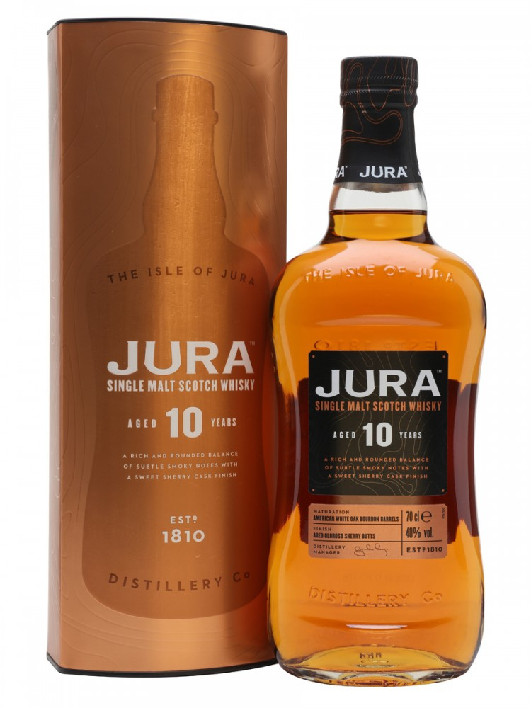 Isle of Jura 10 years in Gift Box