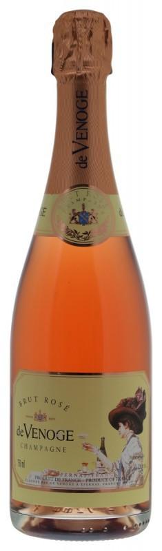 De Venoge Brut Rosé Champagne