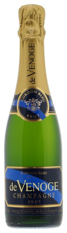 De Venoge Brut Cordon Bleu Select Champagne 37,5cl