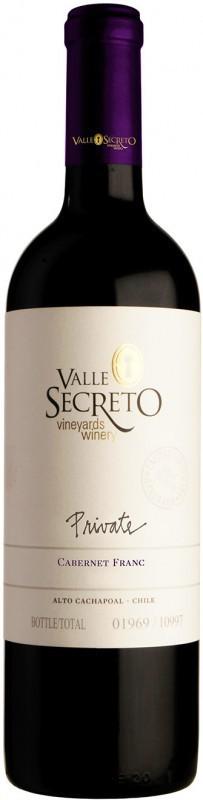 Valle Secreto Private Edition Syrah Cabernet Franc