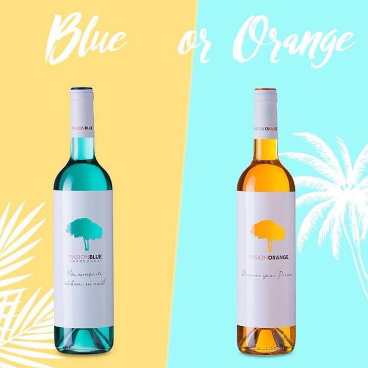 Pasion Blue or Orange proefpakket