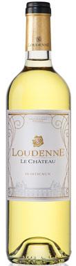 Château Loudenne Bordeaux White in houten case