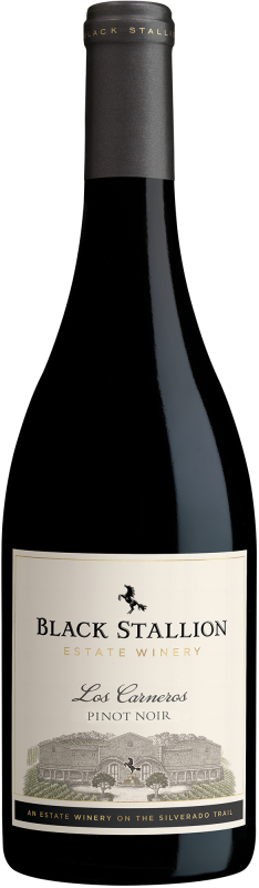 Black Stallion Napa Valley Pinot Noir wijny.nl