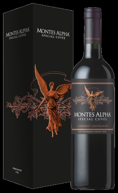 Montes Alpha Black Special Cuvée Cabernet Sauvignon (in giftbox)
