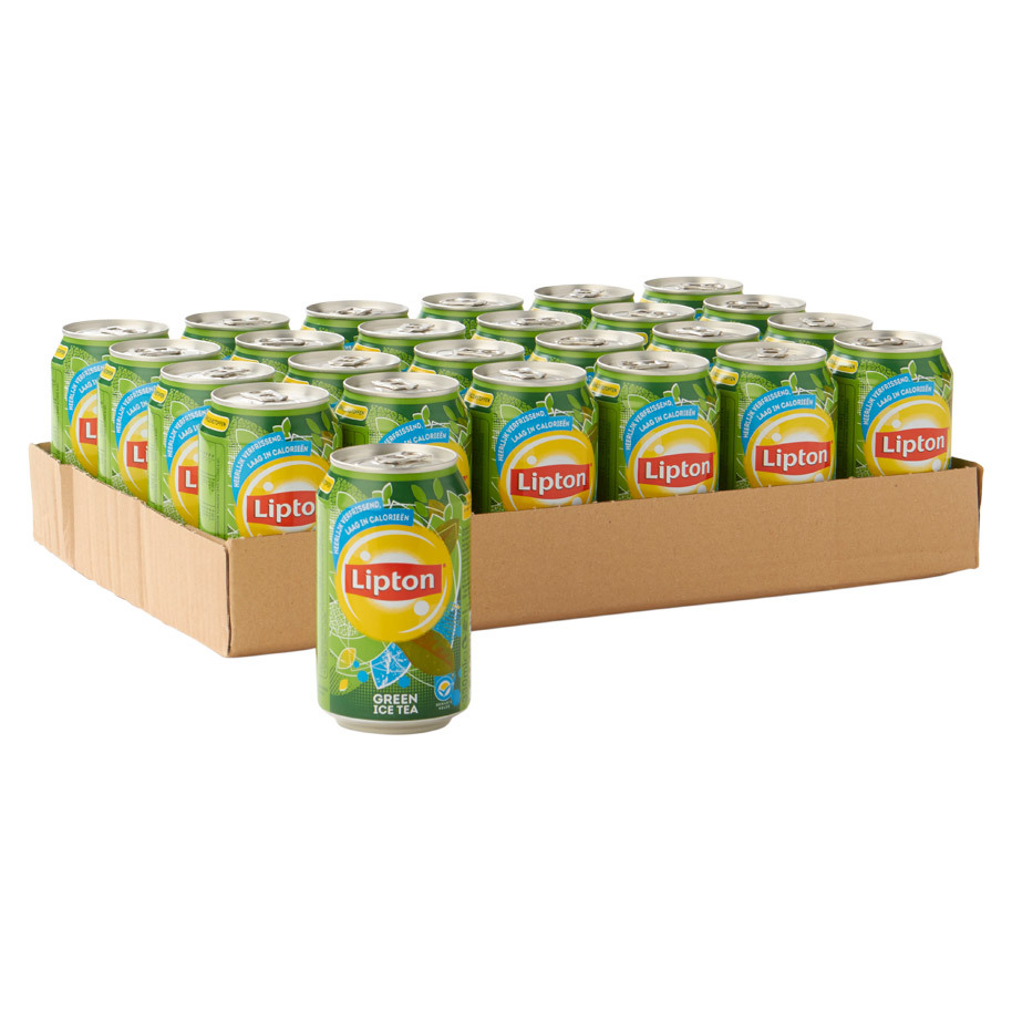Lipton Ice Tea Green (Tray 24 Blikjes 330ml EU) wijny.nl
