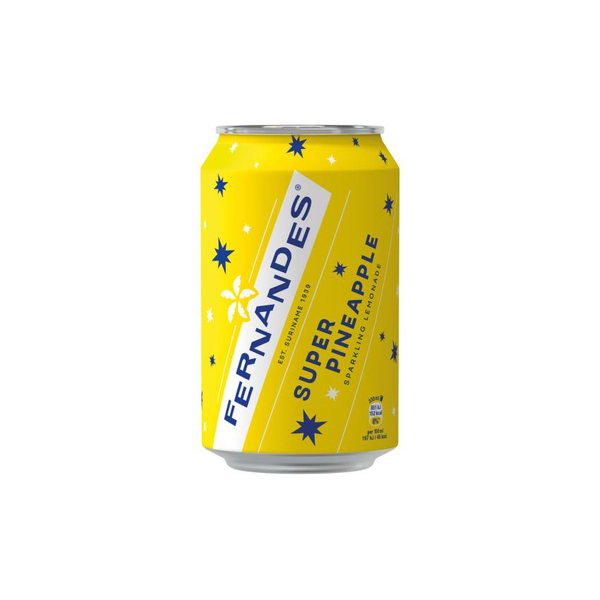 Fernandes Super Pineappel Geel 1/2 Tray