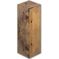 1fles-geschenkverpakking-hout-dessin - 370015