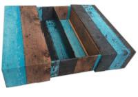 2fles-luxe-blauwe-schuif-geschenkverpakking-hout-dessin - 371028