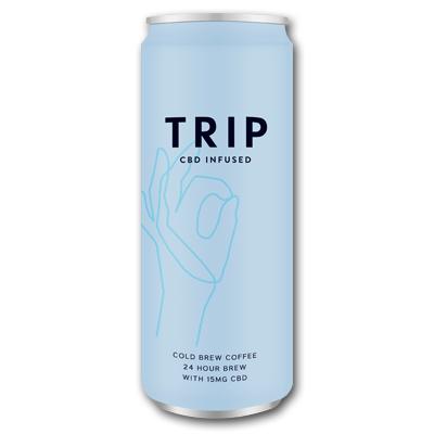 Trip CBD Infused Cold Brew Coffee (blikje 250ml) wijny.nl