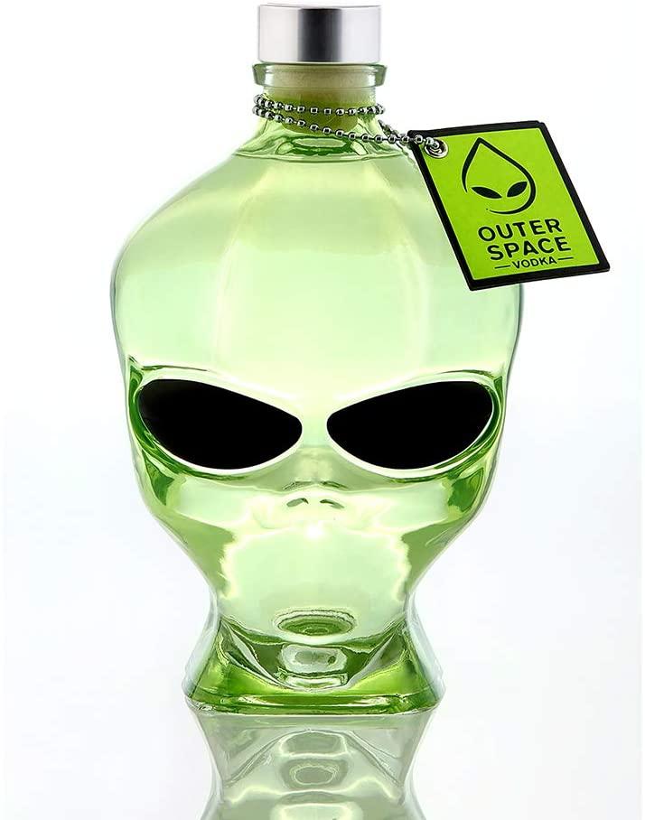 Outerspace Alien Head Vodka