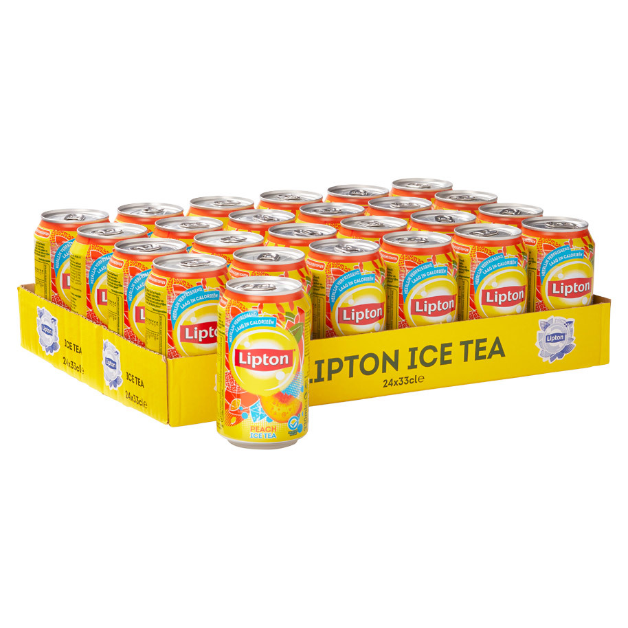 Lipton Ice Tea Peach Tray